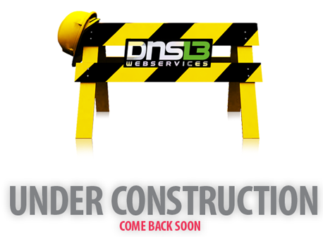 This website is under construction by DNS13 webservices